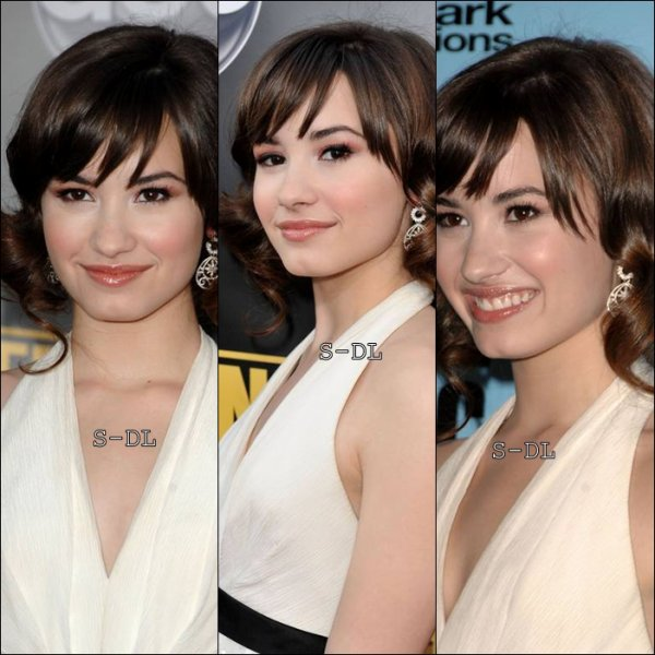 FLASHBACK ; Demi au Americain Music Awards le 23 novembre 2008.