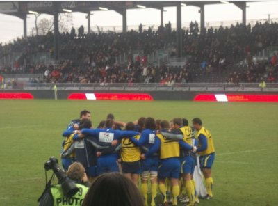 Les Photos du match ASM/ LOU que Pec à prise