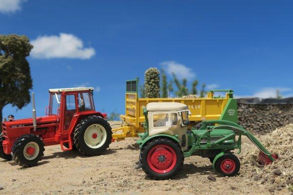 Balade en miniature agricole