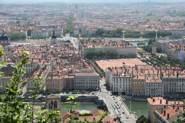 Encore une petite vue sur la ville de Lyon