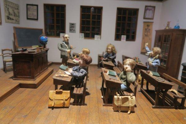 Au musée de la miniature à Lyon
