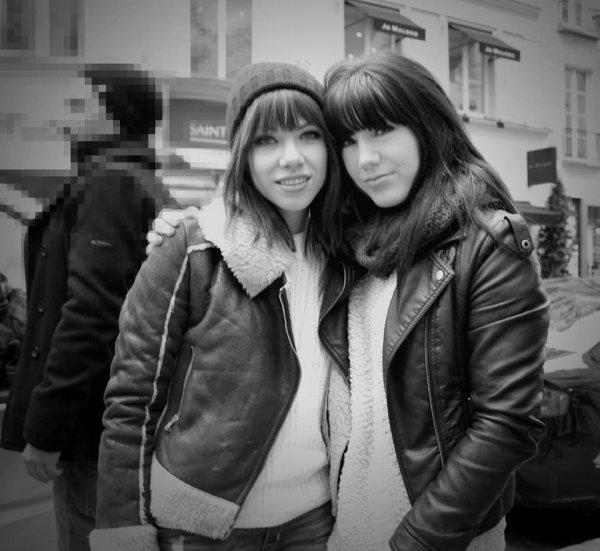 D'boraa à encore rencontrer sa jumelle Carly Rae Jepsen à Paris le 21 Novembre