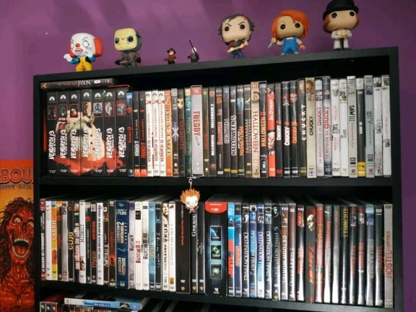 Ma collection de DVD horreur