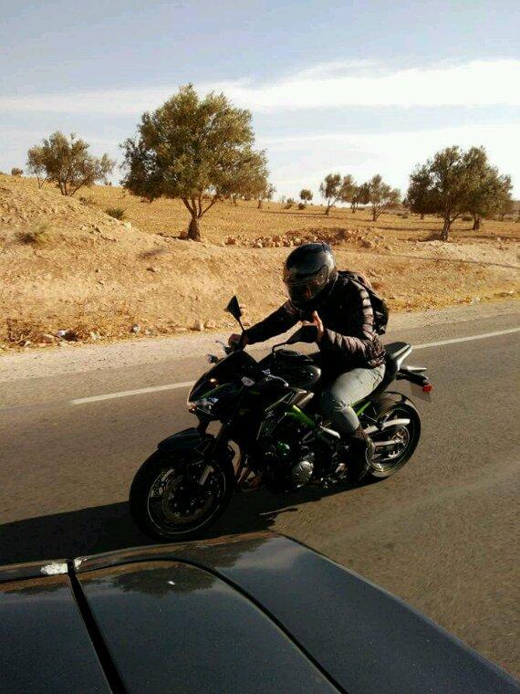 De retour à marrakech