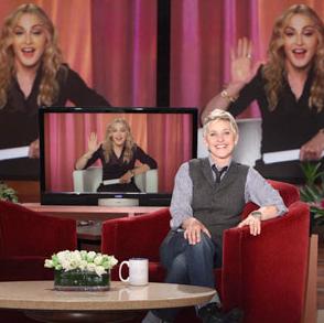 Madonna chez Ellen Degeneres