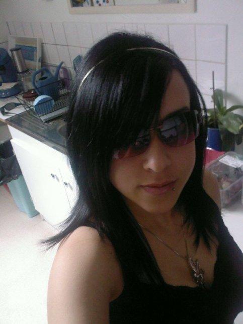 moi en mode lunette