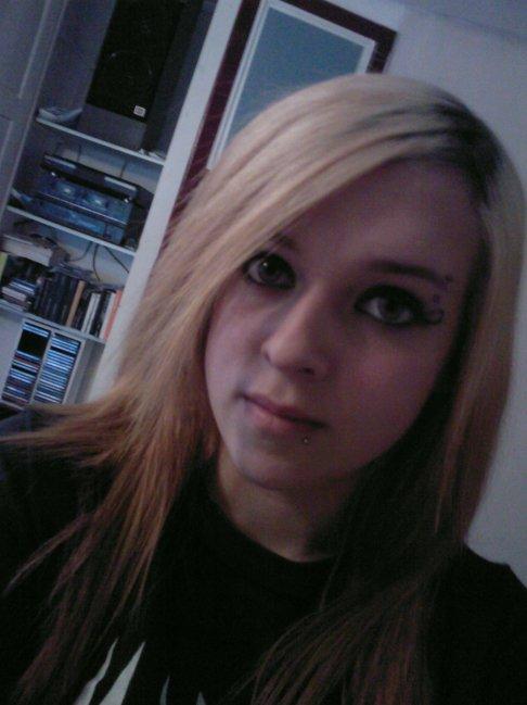 moi en blonde mdr