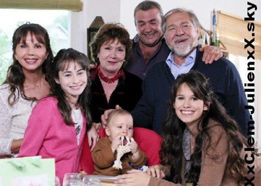 La famille de Clem