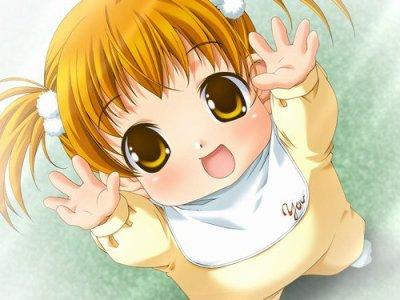 Petite Fille de manga
