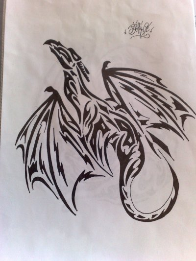 dragon tribal