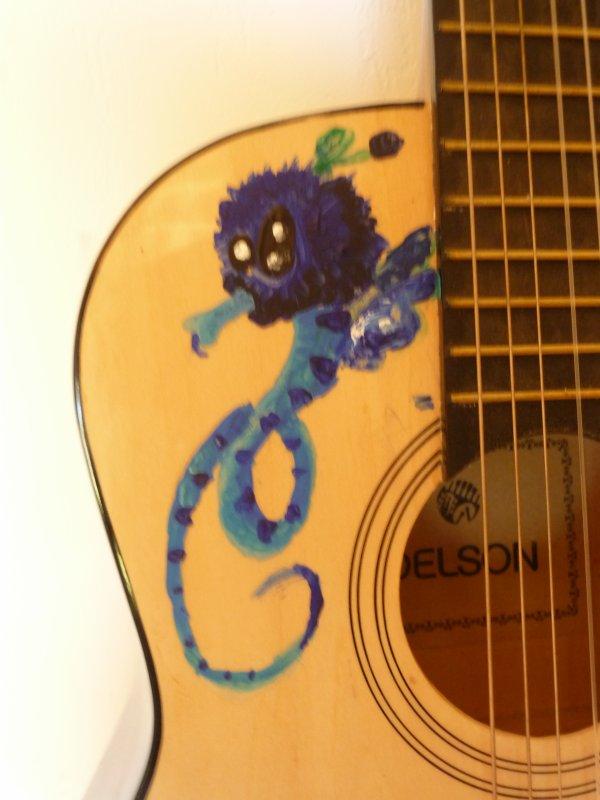 Peinture Guitare