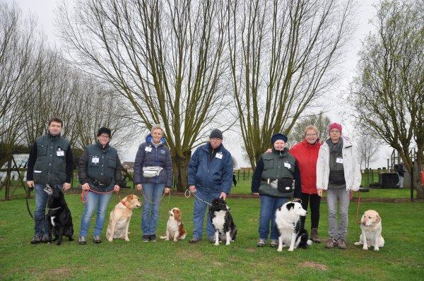 19/03/2017 : Nationale Hondenwedstrijd Deb / P1 / P2 / Concours National