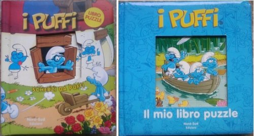 "2 LIVRES - PUZZLE ITALIEN - EDITION ""NORD SUD"""