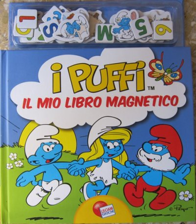 LIVRE MAGNETIQUE ITALIEN