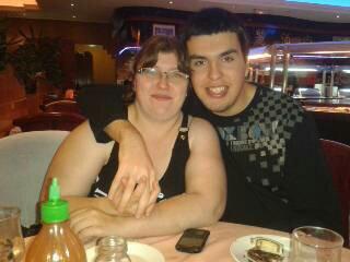 moi et mon homme au restaurant chinois jtm mon bb <3
