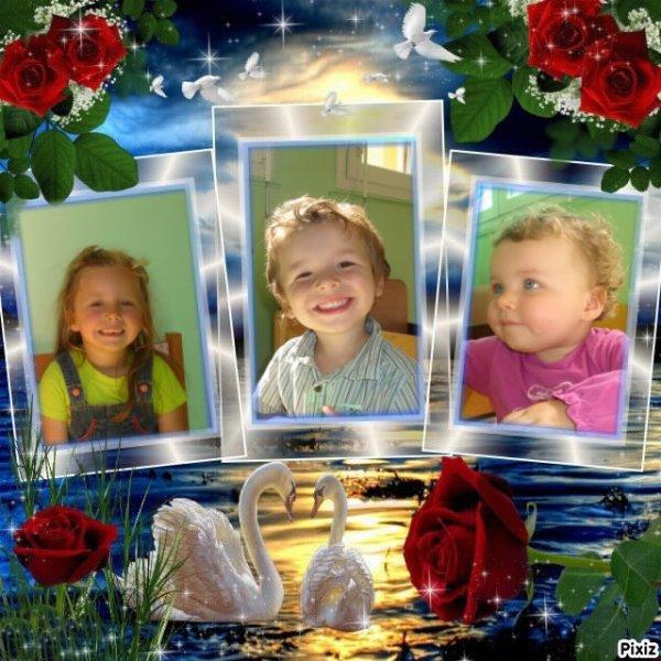 mes enfants : mes trois ainés