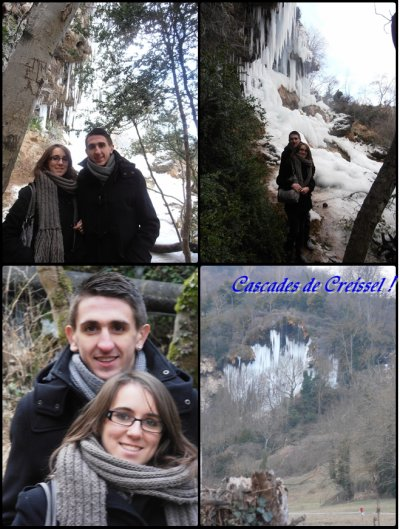 Les cascades de Creissel !