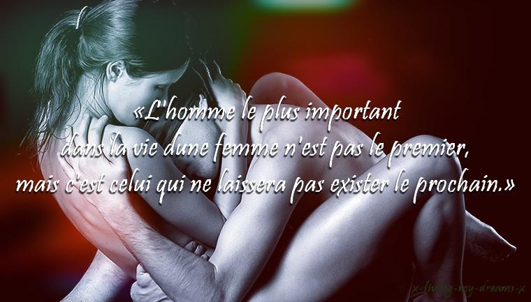 L'homme le plus important dans la vie d'une femme...