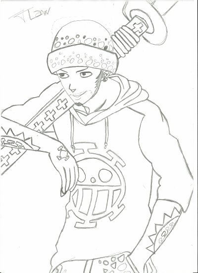 Trafalgar Law (One Piece )