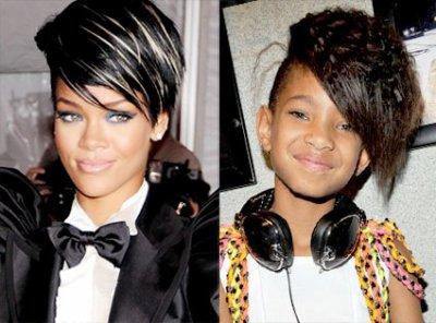 """Willow Smith VS Rihanna """"La qu'elle préféré-vous ??"""""""