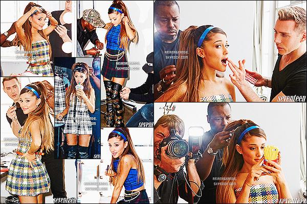 Découvrez ici quelques photos Behind The Scenes du photoshoot pour - « Seventeen » ! Une nouvelle vidéo exclusive tournée durant la séance photo a été postée, et est disponible juste ici. Et aussi, j-19 avant la sortie de My Everything