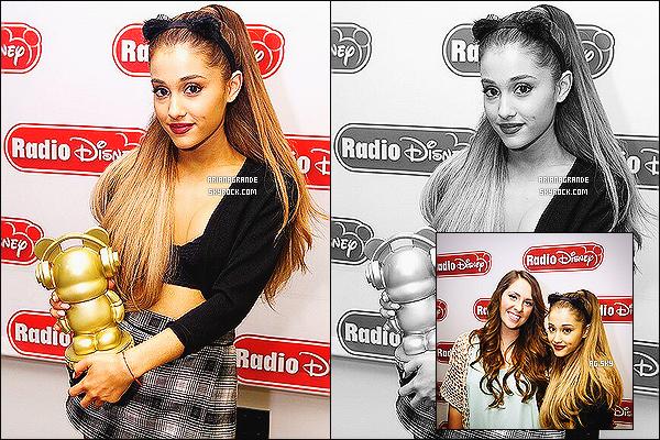 28/08/14 - En pleine promotion, Ariana Grande performait sur le plateau de l'émission : America's Got Talent.  Elle a interprété son dernier titre, Break Free. La jeune chanteuse semblait assez fatiguée, ce qui est très compréhensible. C'est un top pour la tenue.