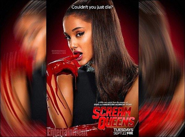 Un tout nouveau cliché d'Ariana pour la série« Scream Queens »vient d'apparaître.
