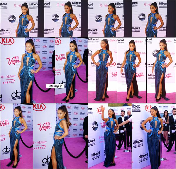 """'''""""22.05.16''' ─ Ariana s'est rendue à la cérémonie des  Billboard Music Awards, qui se déroulait à  Las Vegas. Lors de cette cérémonie Ariana Grande a ébloui tout le public en chantant en live les deux titres suivants """"Into You"""" ainsi que """"Dangerous Woman"""" ! [/alig fen]"""