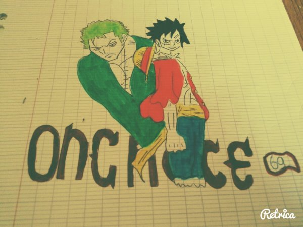 One Piece // ZORO & LUFFY