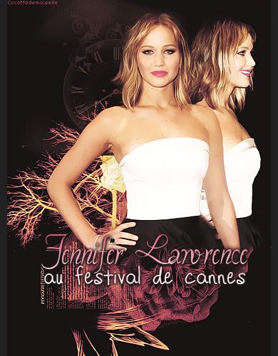 Jennifer à Cannes