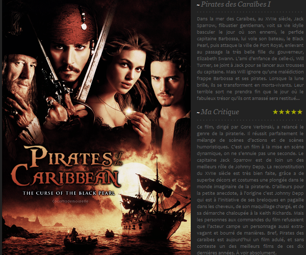 Pirates of the Caribbean : the Curse of the Black Pearl