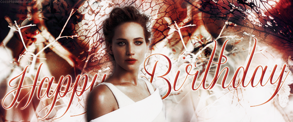 15 Aout Anniversaire de Jennifer Lawrence