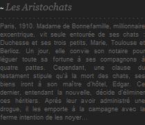 Les Aristochats