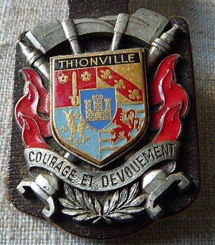 INSIGNE DE THIONVILLE 57 MOSELLE