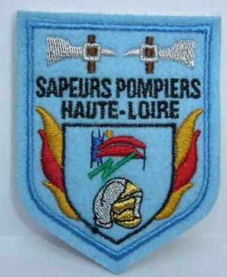 Ecusson 43 haute loire collection insignes pompier for 43 haute loire