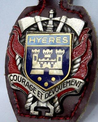 INSIGNE DE HYERES 83 VAR