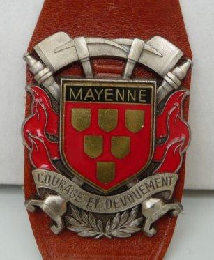 INSIGNE VILLE  DE MAYENNE 53