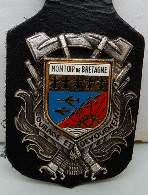 INSIGNE DE MONTOUR DE BRETAGNE 44