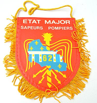 FANION ETAT MAJOR DU 62