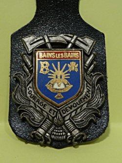 INSIGNE DE BAINS LES BAINS 88