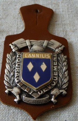 INSIGNE DE LANNILIS 56 MORBIHAN