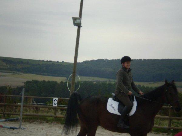 yoanne et son cheval