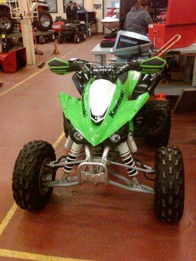 My NEW KFX 450R