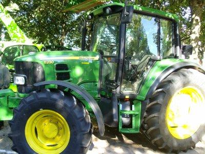 tracteur john deere 6230 ET PRESSE JD 854