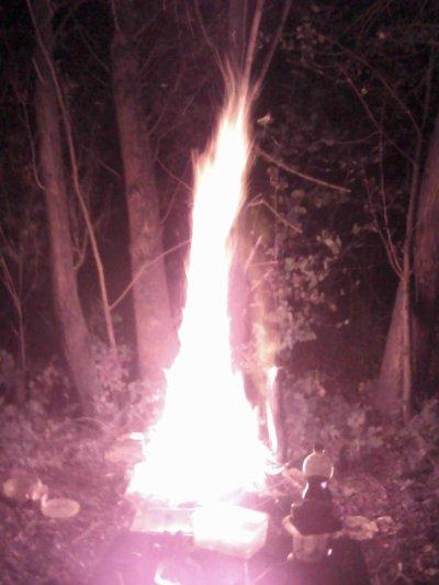 Un petit feu et dun coup un grand mdr