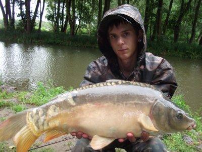 Sorti en étang aek Dorian , petite aprem dans la pluie