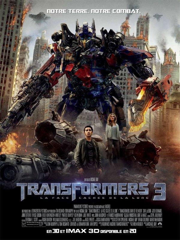 Transformers 3: La face cachée de la lune (2011)