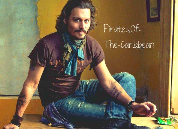 12/08/11-Johnny Depp et Pirates Crew Réinvente Ouest Lone Ranger, Tonto