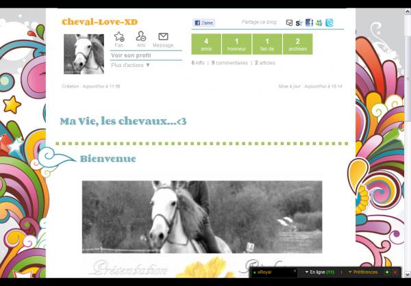 Mon Deuxième blog!