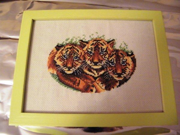 Tableau tigres